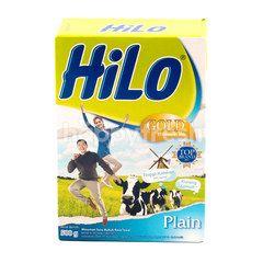 HiLo Gold Susu Bubuk Tawar Tinggi Kalsium dan Kurang Lemak 51+ Tahun