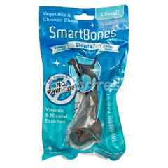 SmartBones Dental Vegetable and Chicken Chews Small Stick