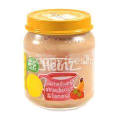 Heinz Smooth Custard With Strawberry & Banana