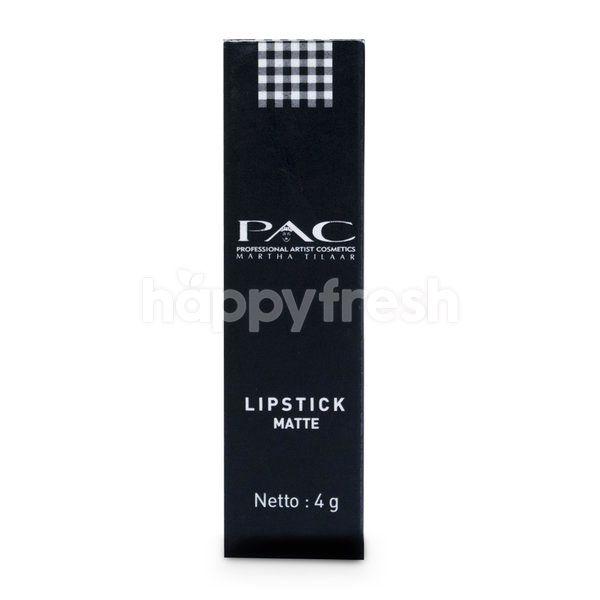 PAC Lipstick Matte Erratic Red