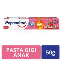 Pepsodent Kids Toothpaste Sweet Strawberry