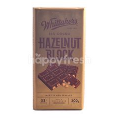 Whittaker's 33% Cocoa Hazelnut Block Milk Chocolate