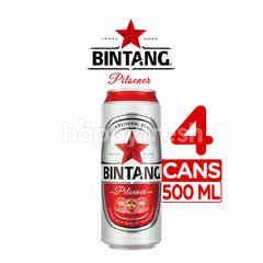 Bintang Pilsener Canned Beer 4 Packs