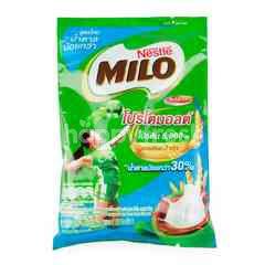 Milo Activ-go Chocolate Malt Mix Beverage Powder Less Sugar Formula