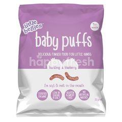 LITTLE BELLIES Baby Puffs - Blueberry (12g)