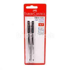 Faber Castell True Gel Super Smooth Gel Pen - Black