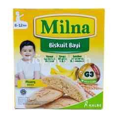 Milna Biskuit Bayi Rasa Pisang 6+ Bulan