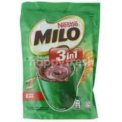 Milo Fuze 3 In 1 Regular Chocolate Drink (8 Packs)