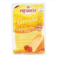 President Classics Gouda Cheese - Slices