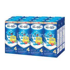ไฮ-คิว 3 พลัส ยูเอชที พรีไบโอโพรเทก  นมผงสำหรับเด็ก รสจืด 180 มล. (แพ็ค 12)