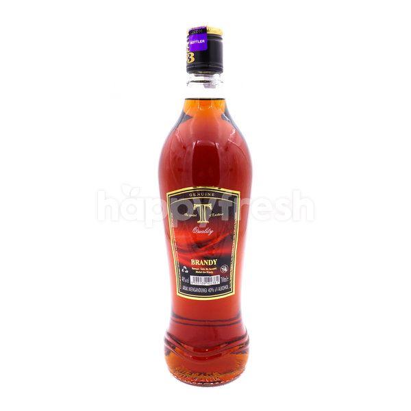 GENUINE T Quality Brandy - Caramelised