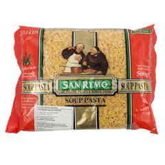 San Remo Pasta untuk Sup Bentuk Huruf