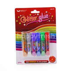 Unicorn Glitter Glue  (6 Pieces)