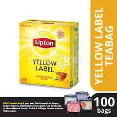 Lipton Yellow Label Black Tea (100 Tea Bag)