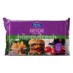 Emborg American Cheddar Slices Cheese (20 Slices)
