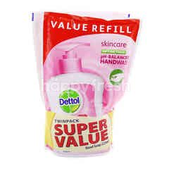 Dettol Skincare Anti-Bacterial Hand Soap Refill (2 Packet)