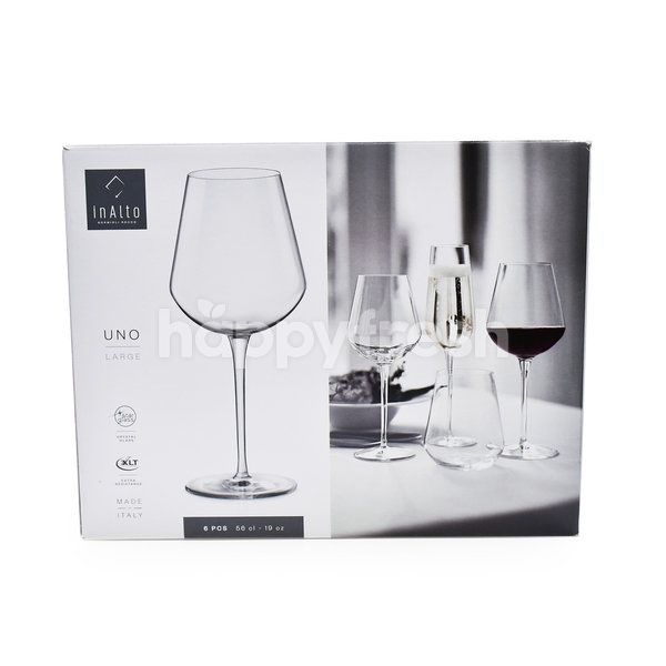 InAlto Uno Large Crystal Glass
