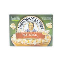 Newman's Own Microwave Popcorn - Natural