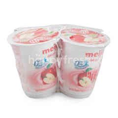 Meiji Low Fat Yoghurt With Royal Fuji Apple