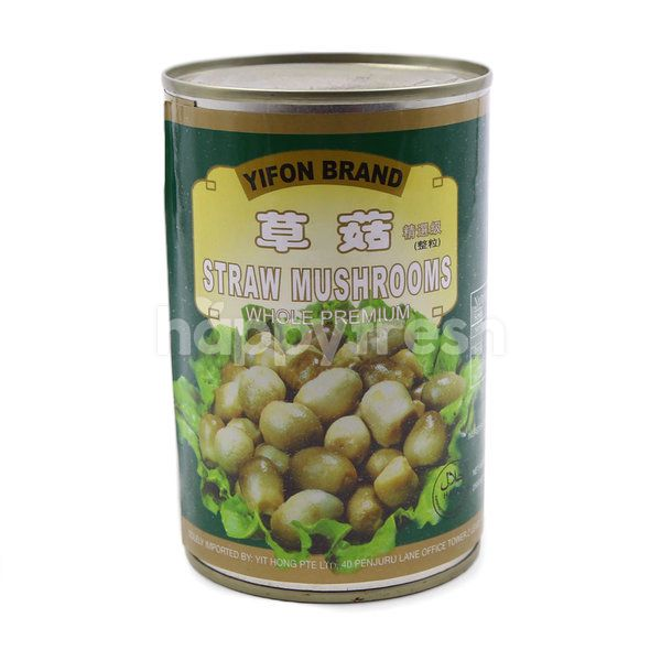 Yifon Brand Straw Mushroom In Canned