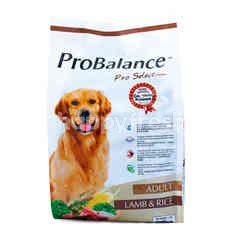 ProBalance Pro Selction Makanan Anjing Dewasa Rasa Domba & Nasi