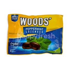 Woods' Extra Strong Peppermint Lozenges Original