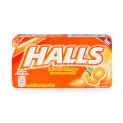 Halls Double Orange Candy