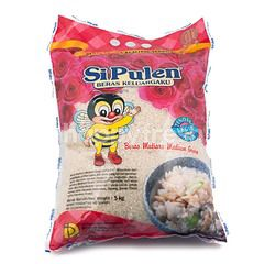 Si Pulen Beras Mutiara Medium Grain Rice