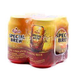Carlsberg Special Brew 6.5% Strong Lager Beer 4x320ml can