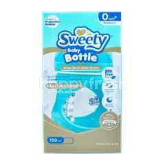 Sweety Botol Bayi Wide Neck Glass Warna Biru