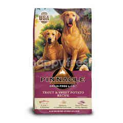 Pinnacle Grain Free Dog Food Trout & Sweet Potato Flavour 5.4 kg