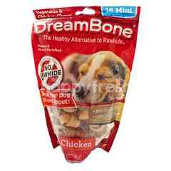 DreamBone Vegetable and Chicken Chews Mini Stick 16's