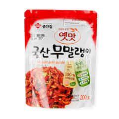 แดซางค์ กิมจิไชเท้าอบแห้ง