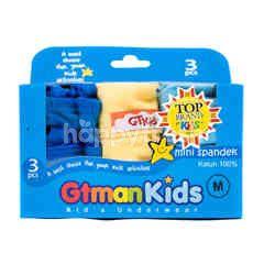 GT man Kids Underwear Size M