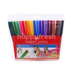 Faber Castle Colour Pen (20 Sticks)