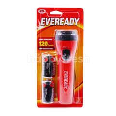 Eveready Long Runtime 120 Hours LED Torchlight With 2 D Batteries (3 Pieces)