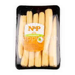 Natural & Premium Food Organic Baby Corn