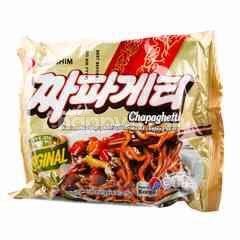 นงชิม จาจัง บะหมี่กึ่งสำเร็จรูป รสซอสถั่วดำ