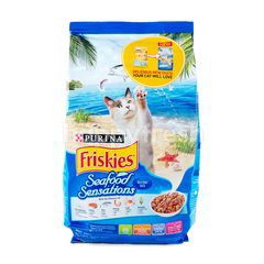 Friskies Seafood Sensations Cat Food 450g