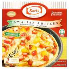 Kart's Hawaiian Chicken Handmade Pizza