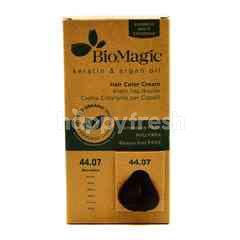 Biomagic Keratin And Argan Oil Hair Color Cream- Mocha Color