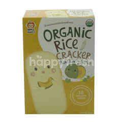 APPLE MONKEY Organic Rice Crackers Pumpkin Flavour