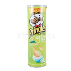 Pringles Sour Cream Onion Potato Chips