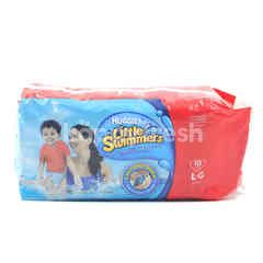 HUGGIES Little Swimmers Disposable Swimpants L . G