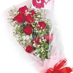 Citra Florist Bouquet Shiny Red