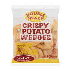 Double Snack Curry Potato Wedges