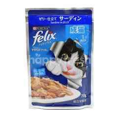 Purina Felix Sardine Adult Cat Food