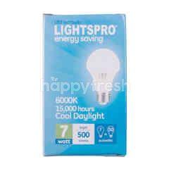 Lightspro Lampu Bohlam LED 7 watt Terang 500 lumens