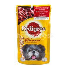 Pedigree Beef Chunks Flavour In Gravy Dog Food