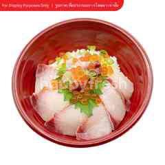 ข้าวหน้าปลาฮามาจิ